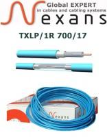 Одножильный нагревательный кабель Nexans TXLP/1R 700/17