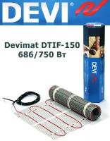 Двухжильный нагревательный мат Devimat DTIF-150 686/750 Вт - 5,0м