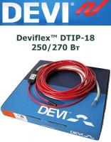 Двухжильный нагревательный кабель Deviflex™ DTIP-18 250/270 Вт 15м