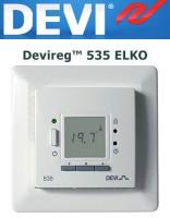 Терморегулятор Devireg™ 535 ELKO с датчиком пола и воздуха