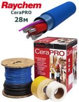 Tеплый пол на основе супертонкого кабеля CeraPRO 28м