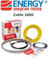Теплый пол Energy Cable 2600 Вт