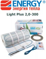 Теплый пол Energy Light Plus 2,0-300
