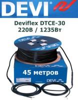 Нагревательный кабель Deviflex DTCE-30 220В / 1235Вт 45 м