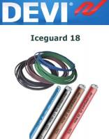 Нагревательный саморегулирующийся кабель Devi-iceguard 18 (1 погонный метр)