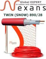 Резистивный двужильный нагревательный кабель DEFROST TWIN (SNOW) 890/28 31,9м