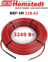 Двужильный кабель для открытых площадей Hemstedt BRF-IM 118.42