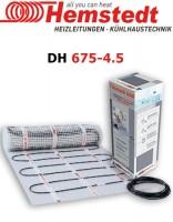 Двужильный мат Hemstedt DH 675-4.5