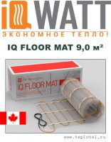 Греющий мат IQ FLOOR MAT 9,0м²