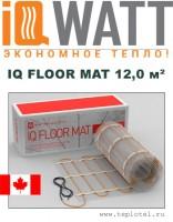 Греющий мат IQ FLOOR MAT 12,0м²