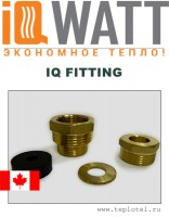 IQ FITTING - муфта для прокладки кабеля внутри труб